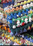 Katie Daniel, rag rugs, fabric arts